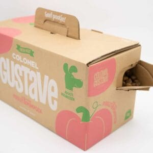 croquettes chien packaging