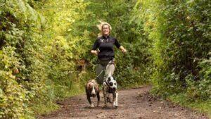 Canicross avec Sarah, experte dans le domaine