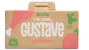 Packaging colonel gustave carton