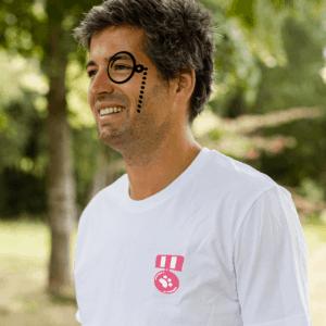 Meet the team - Arnaud Gustin médaille monocle